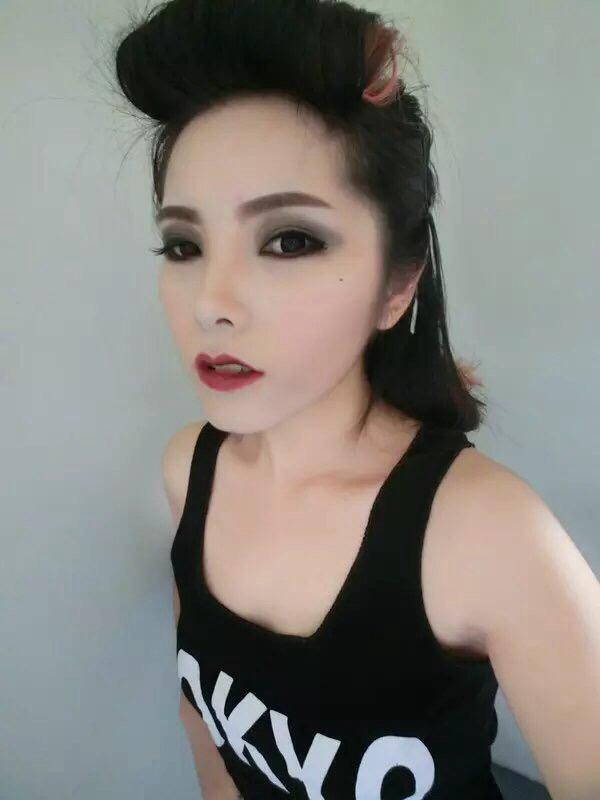 【妆】仿范爷气质妆 复古大红唇
