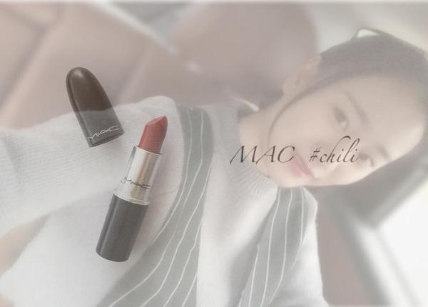 MAC口红颜色对比图